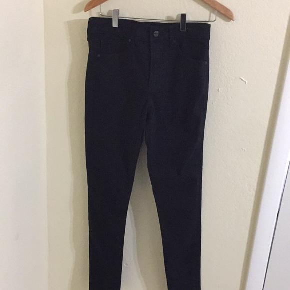 Express skinny mid rise women's black pant sz 4l